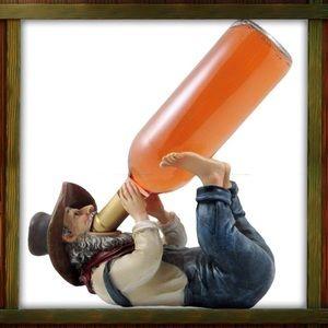 Hillbilly Wine Bottle Holder